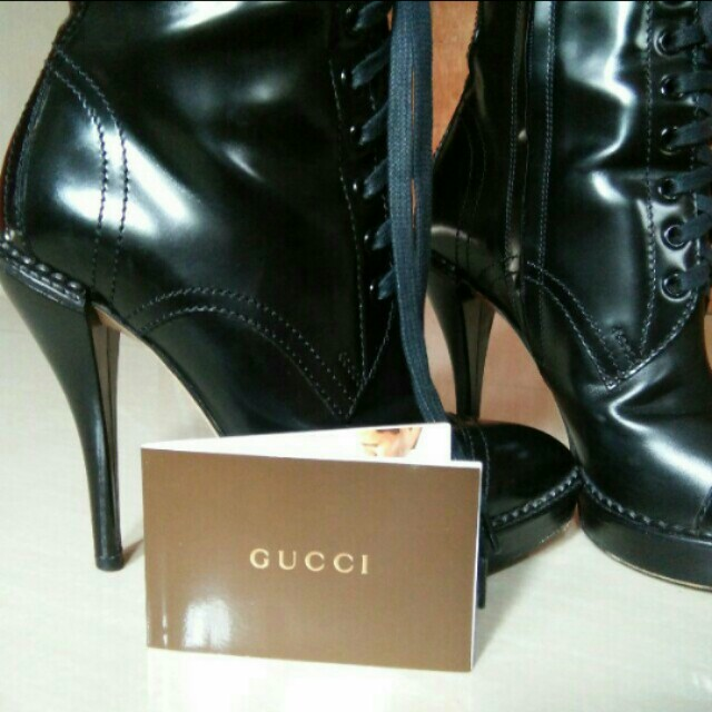 Reprice Authentic Gucci High Boots
