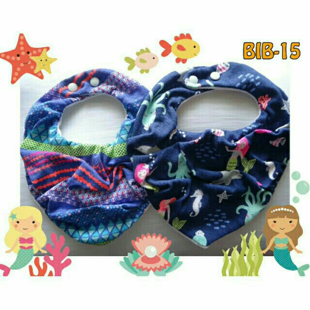Baby Scarf Bandana Bib Bibdana Set Of 2