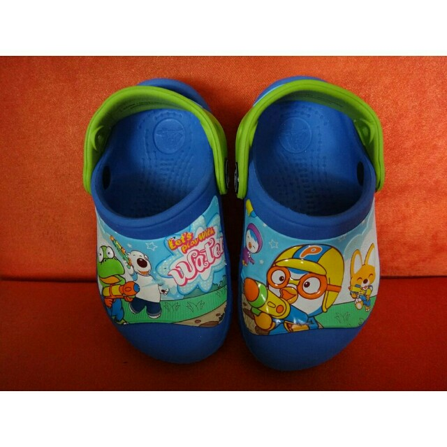 Baby Toddler Crocs Clogs Shoes Authentic Pororo
