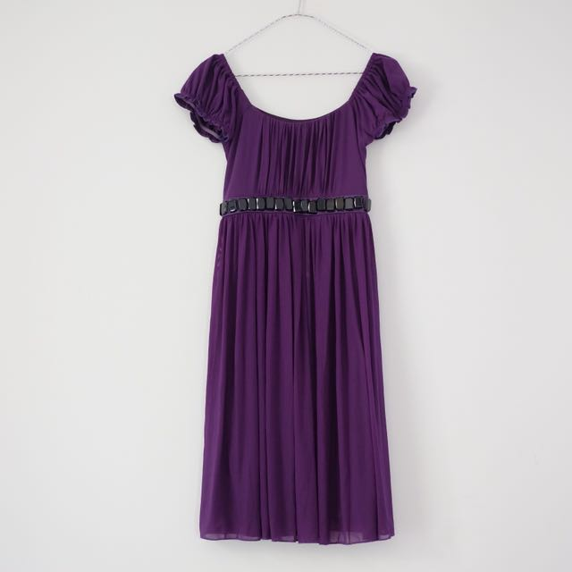 Babydoll Purple Dress