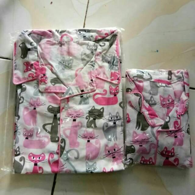 Baju Tidur Couple Ibu Dan Anak Olshop Fashion Olshop Wanita On