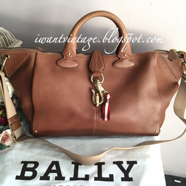 Bally Mae Oversized Tote Brown Women S Fashion Bags Wallets On Carou