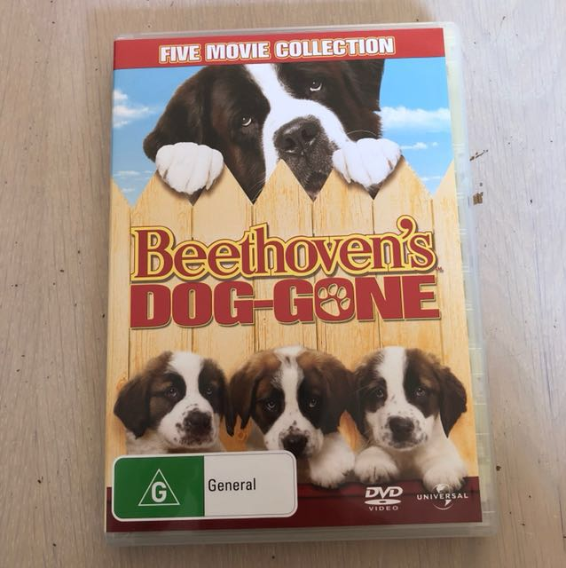 BEETHOVEN 5 movie collection