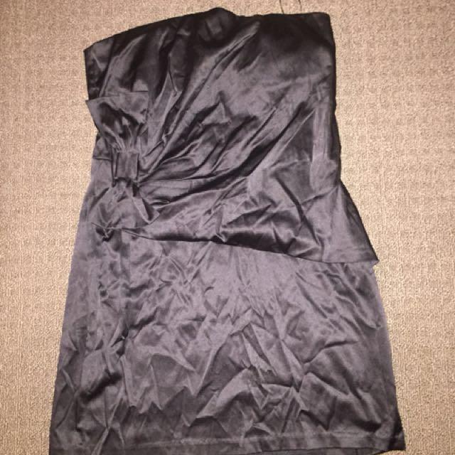 Black cocktail dress size 14
