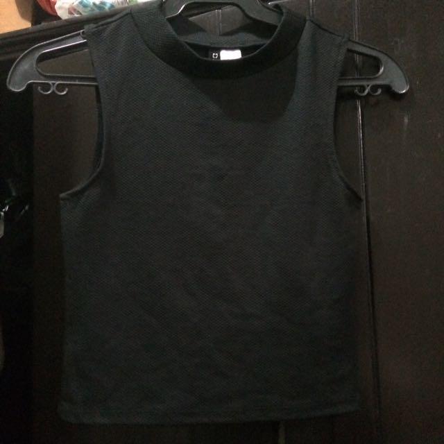 Black H&M Crop Top