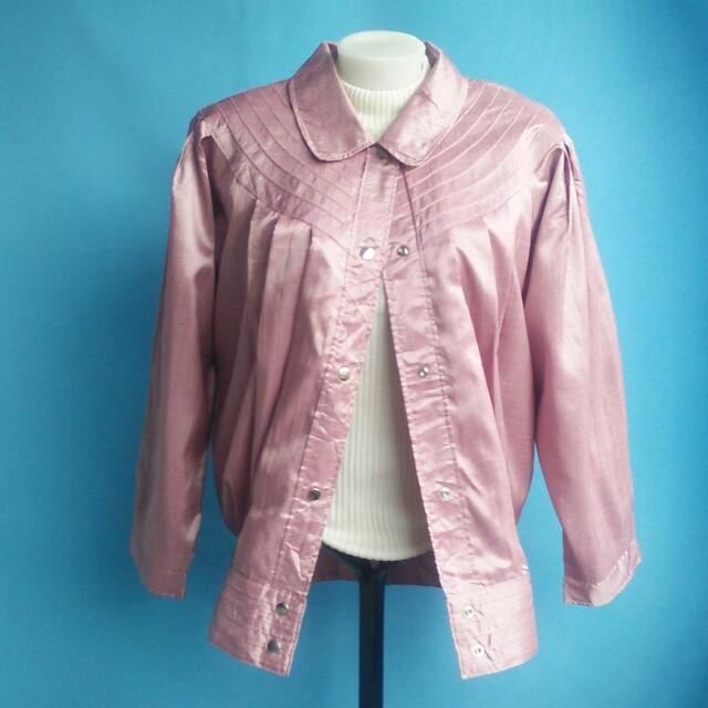 Blush pink jacket