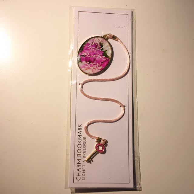 BNIB Charm Bookmark