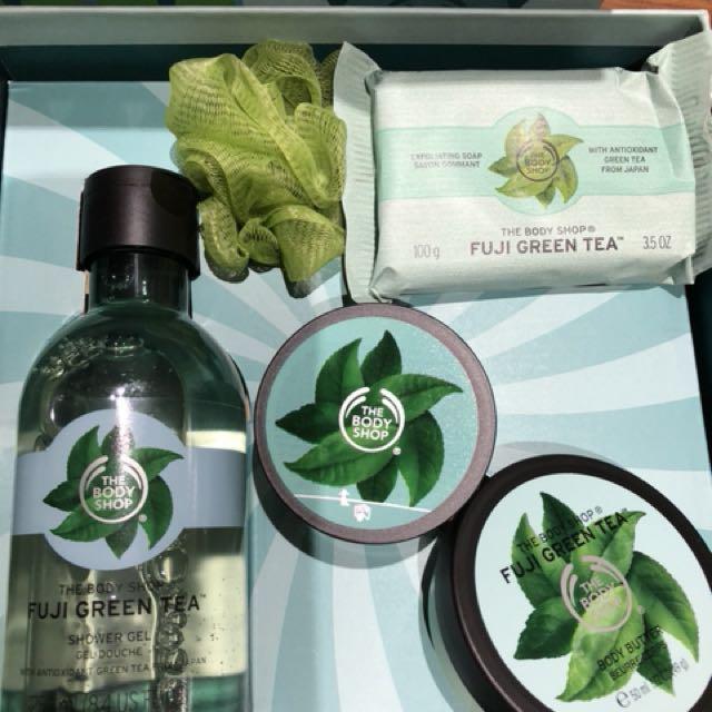Body shop Fiji green tea gift set price ono