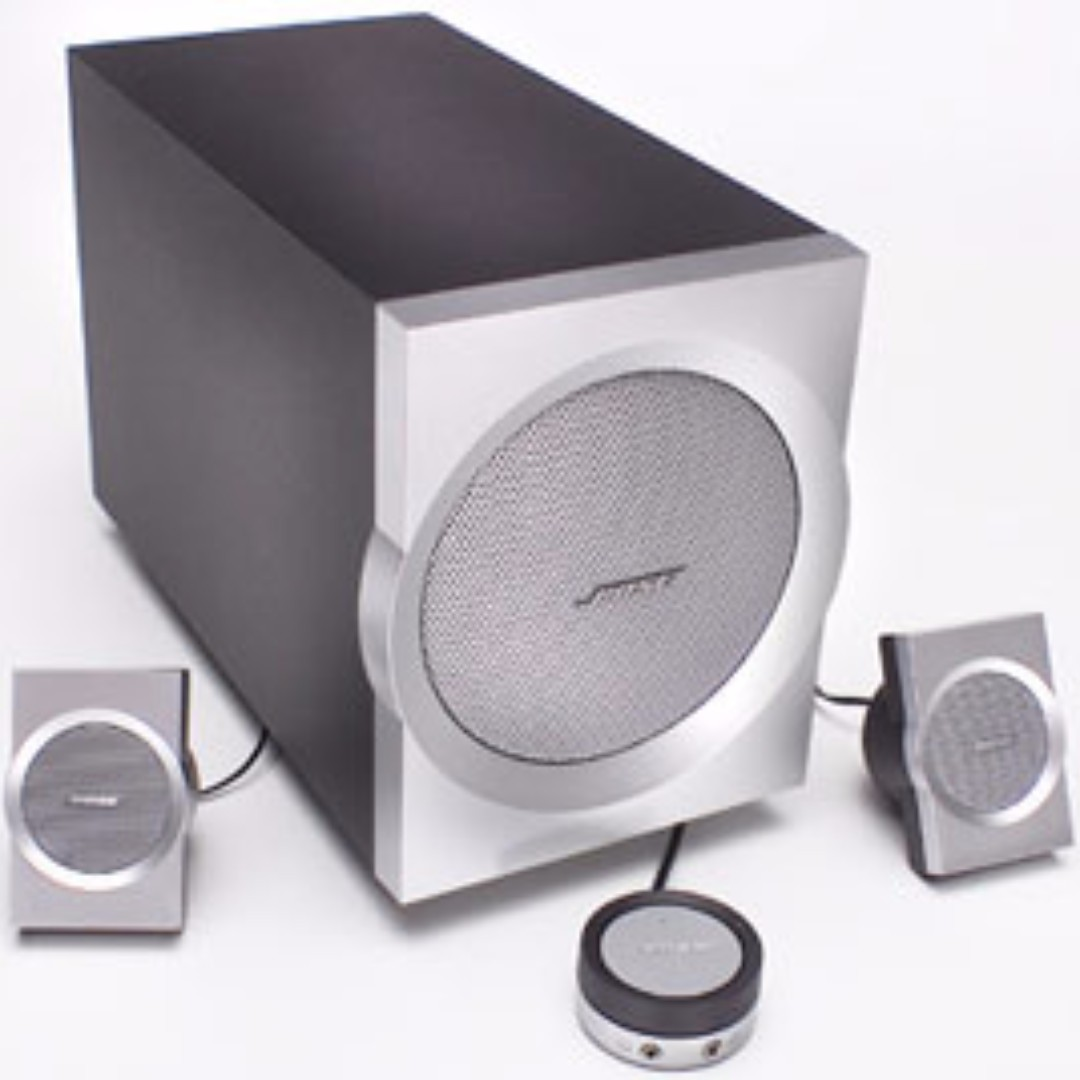 Bose Companion 3 Pc Computer Speaker System  Electronics