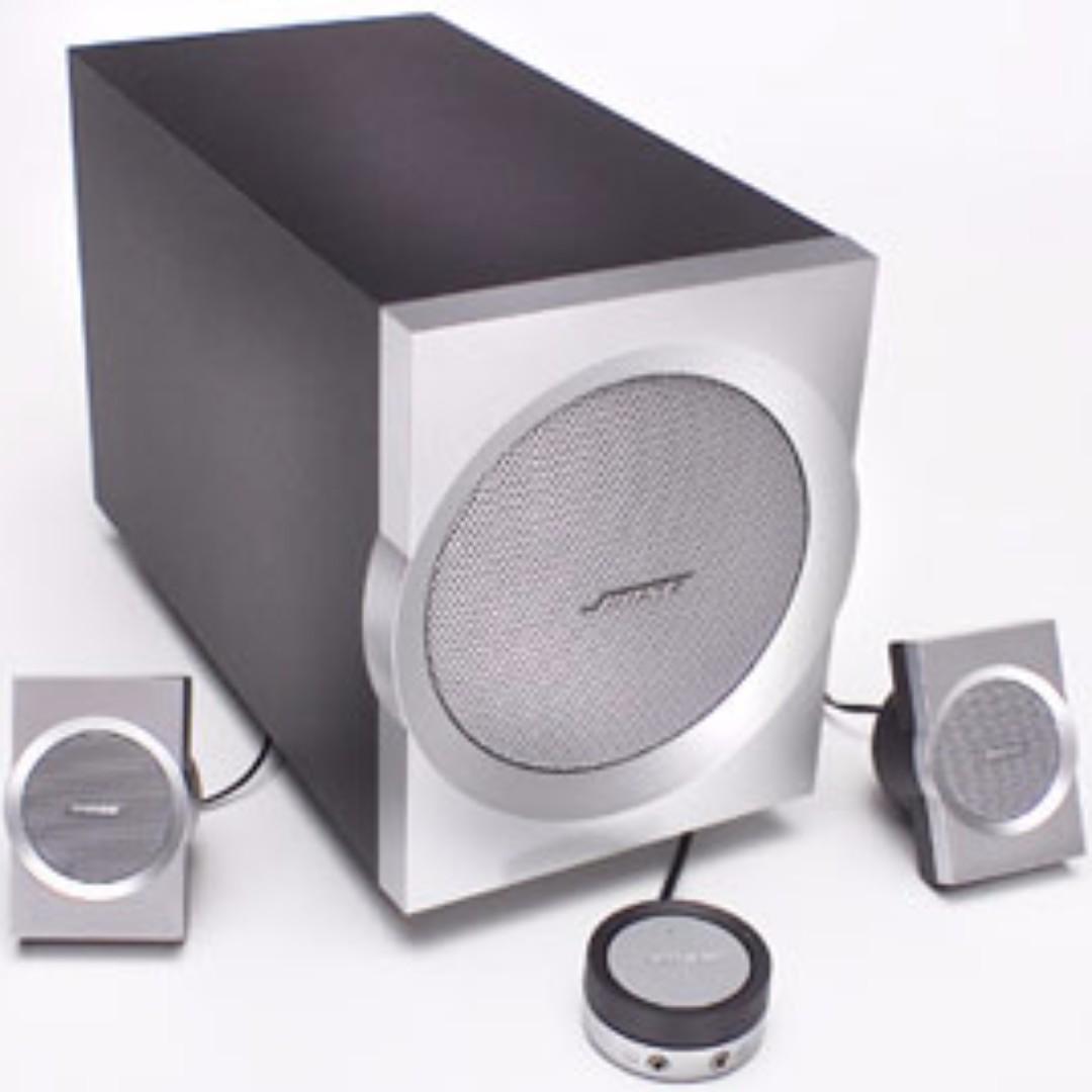 Bose Companion 3 Pc Computer Speaker System  Electronics