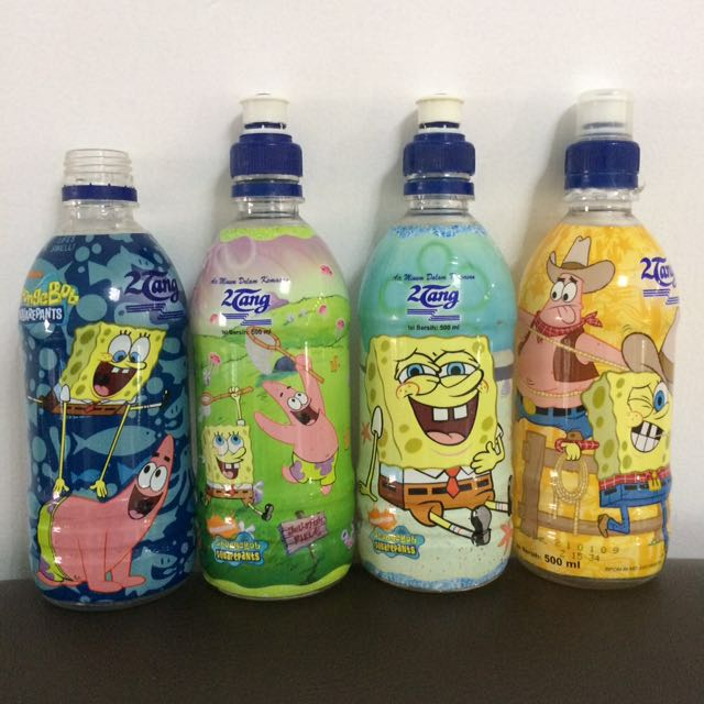 Botol Ron88 besar SPONGEBOB LIMITED EDITION