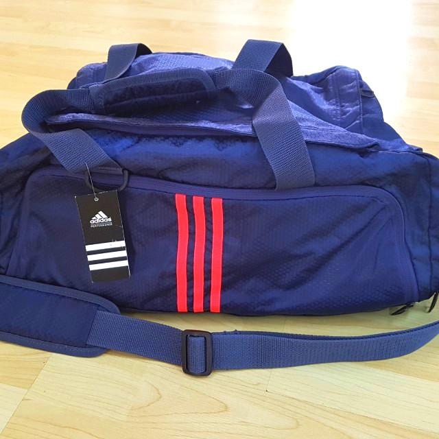 e3a225c2470353 Brand New Adidas Gym Bag, Navy Blue, Sports, Sports & Games ...