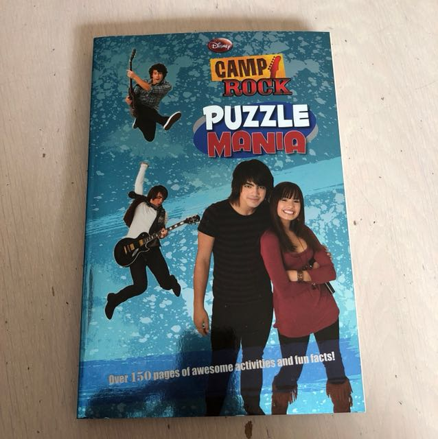 BRAND NEW. Camp Rock Puzzle Book
