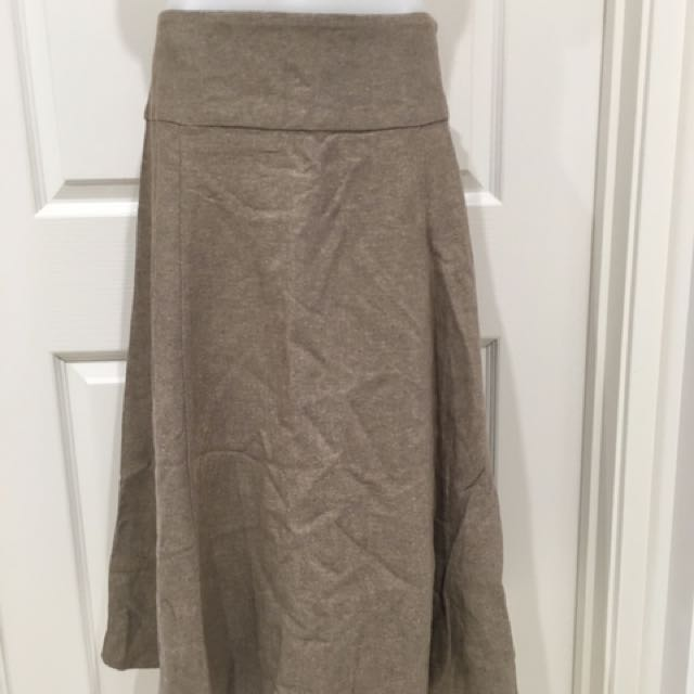 Brand new light chocolate skirt Size 8