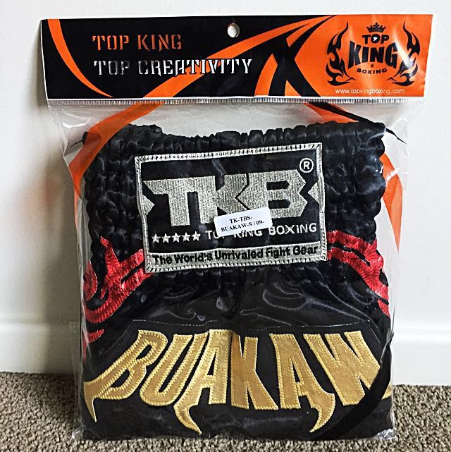 BRAND NEW TOP KING MUAY THAI/BOXING SHORTS