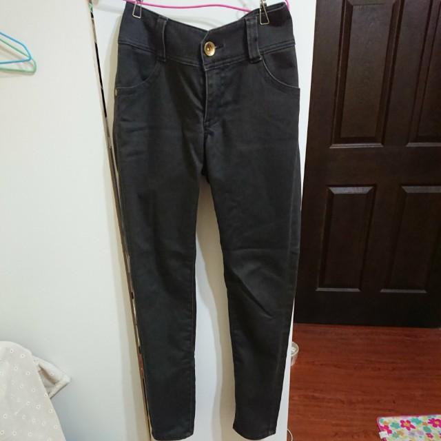 Brappers黑牛仔褲黑褲