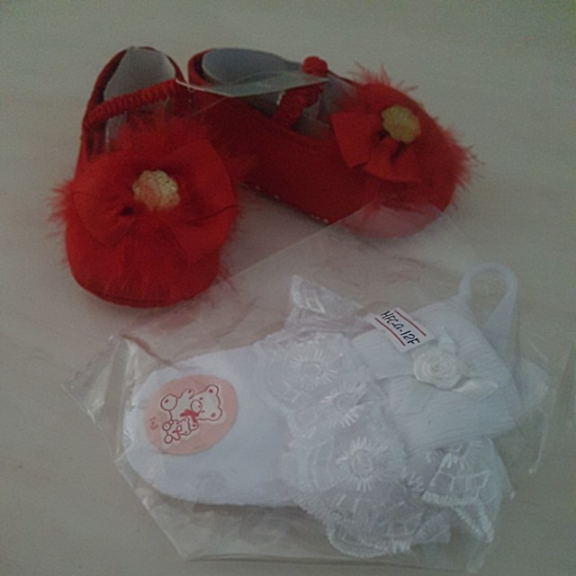 Bundle set offer - Baby girl Shoes & Socks
