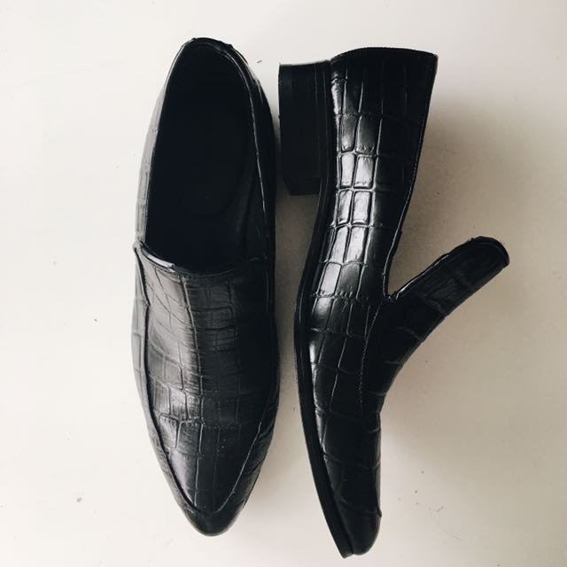 Cartel leather loafers