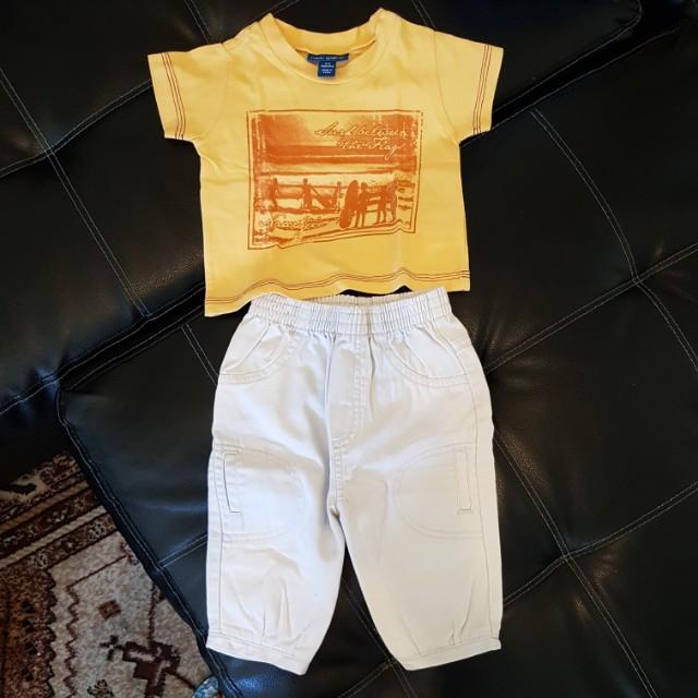 Carter's shirt & pants