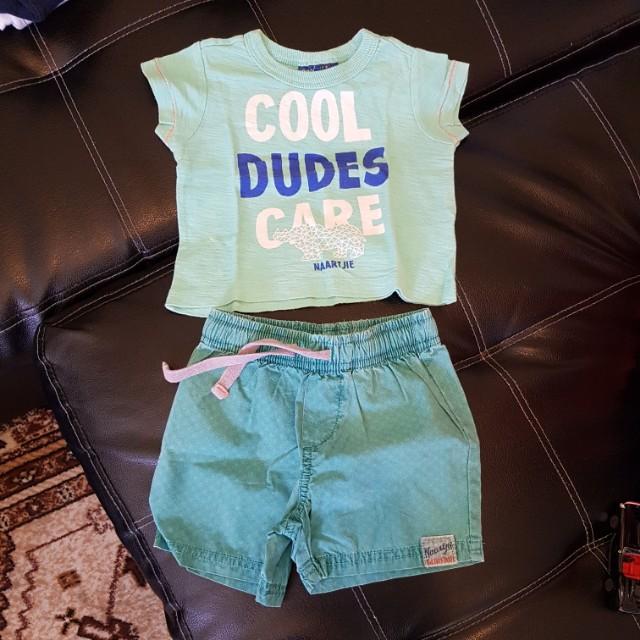 Carter's shirt & short