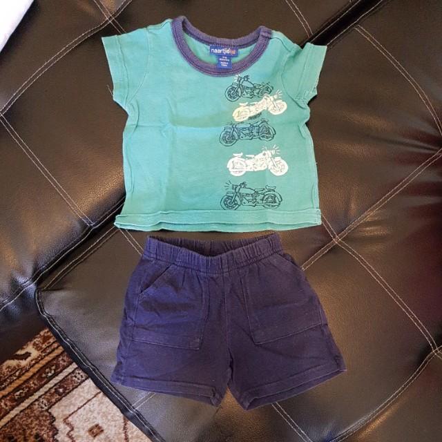Carter's shirt & shorts