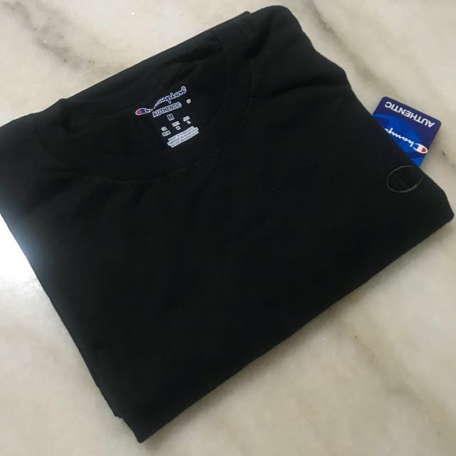 abeda64a3 Champion Men's Classic Jersey Tee, Men's Fashion, Clothes on Carousell