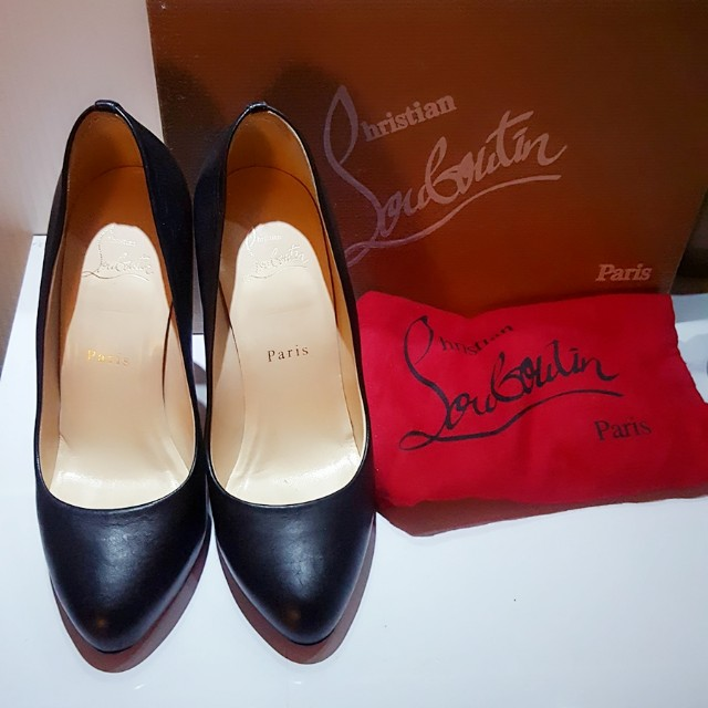 christian louboutin authentic 37.5