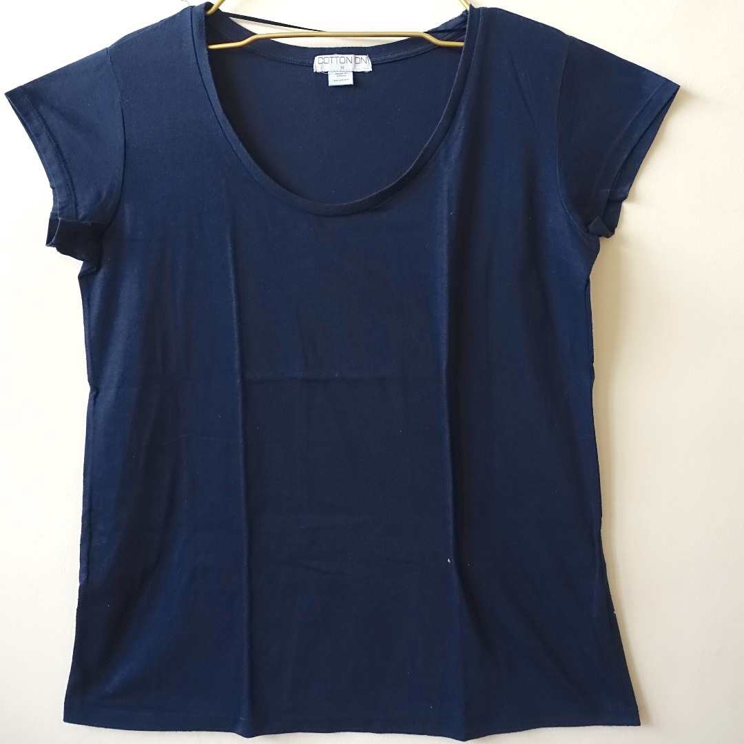 Cotton On Navy Blue Tshirt