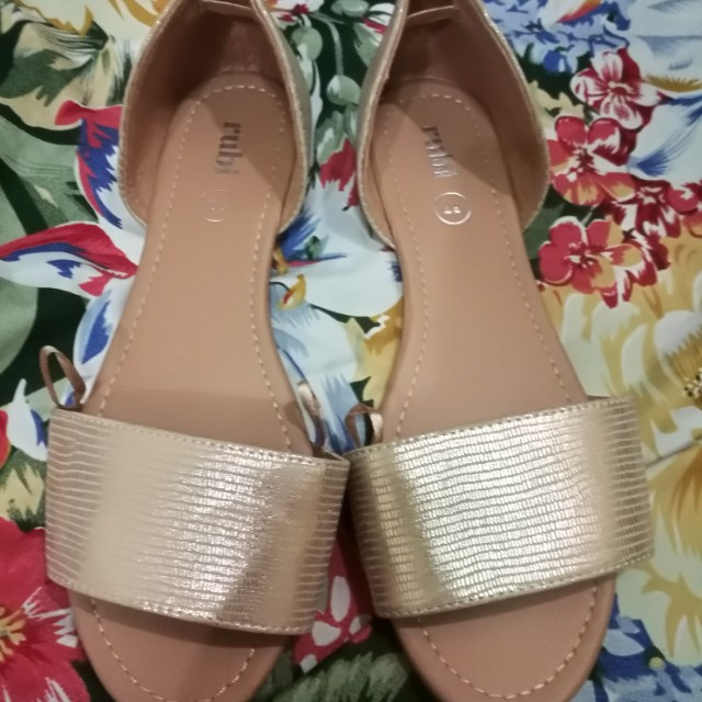 CottonOn Rubi gold sandals