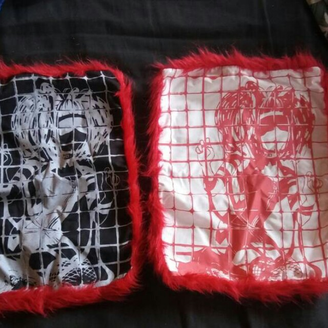 Cyber girl pillow cases handmade