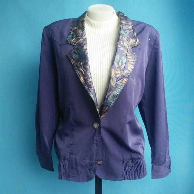 Deep violet jacket