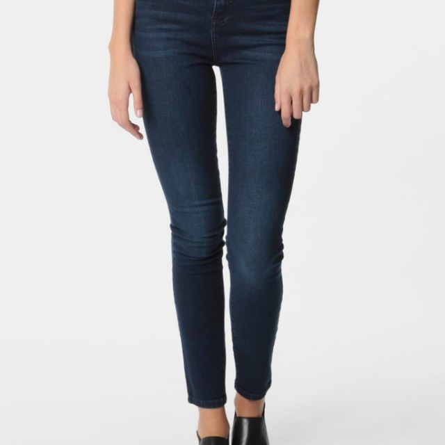Dr Denim Zoe Skinny High Rise Jeans Size 27