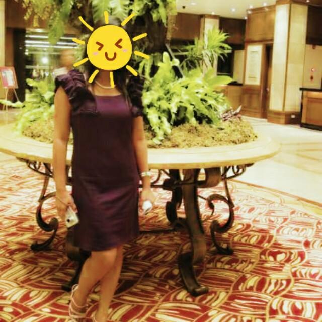 Elegant Plum Dress