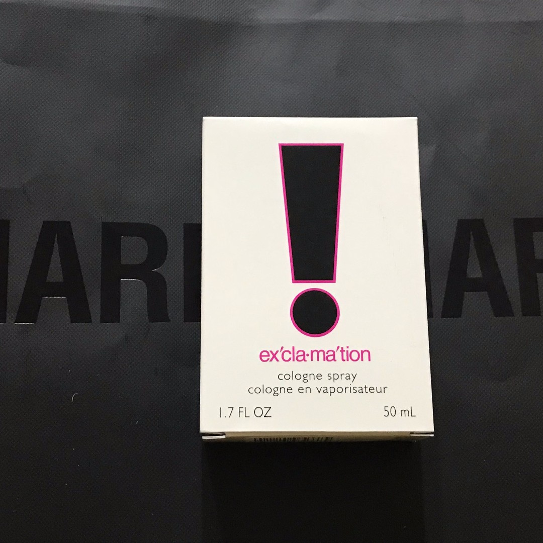 Exclamation Cologne Spray For Women Health Beauty Hand Foot