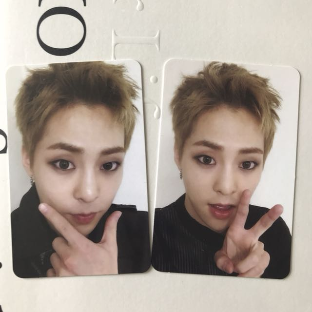 EXO Xiumin For Life Winter Special photocards