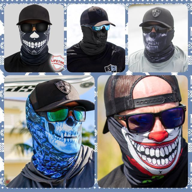 78e4ff4cf Face Shield - Various Designs, Sports, Sports Apparel on Carousell