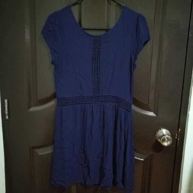 Factorie Dress Navy blue