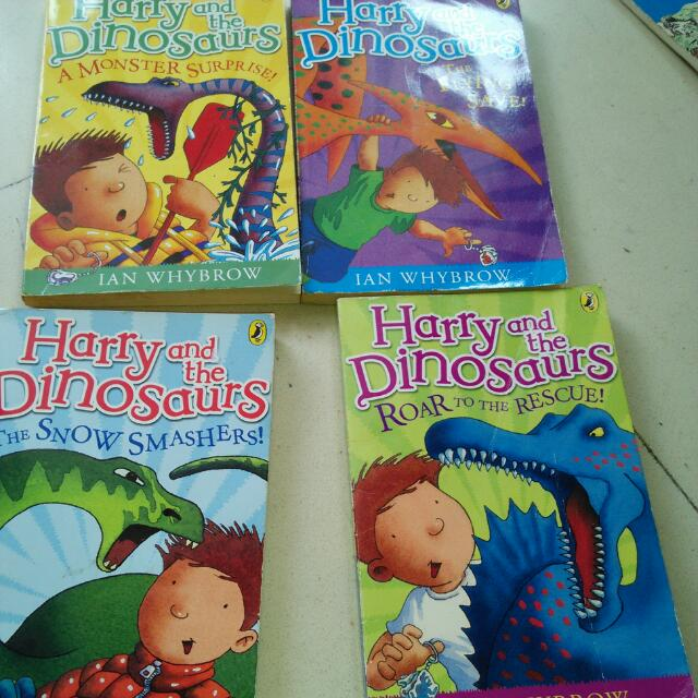 Harry and the Dinosaurs: A Monster Surprise!: A Monster Surprise!