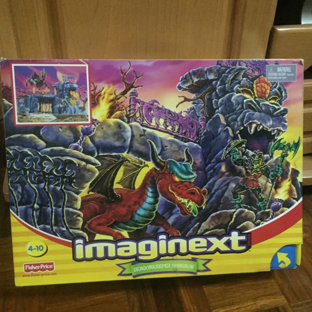 Fisher Price IMAGINEXT DragonKeeper Dungeon