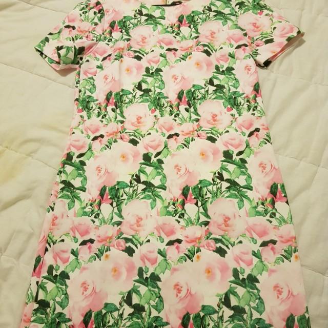Forcast Floral Dress - Size 6