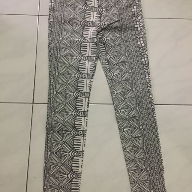 Freeong - forever 21 tribal pants