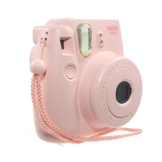 Fujifilm instax mini camera with case