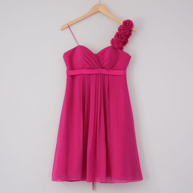 Fuschia Mini Dress