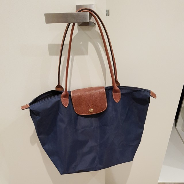 Genuine Longchamp bag in navy