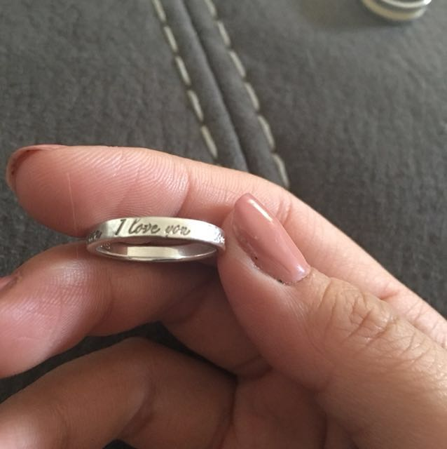 Genuine Tiffany ring