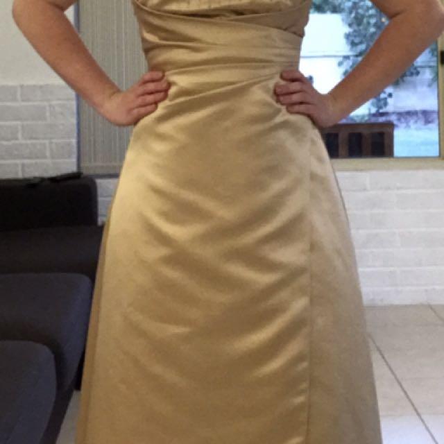 Gold Ball Dress