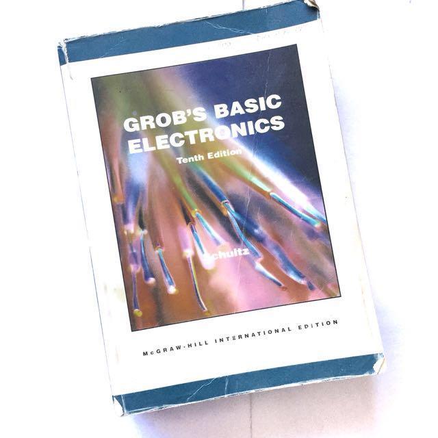 Grob S Basic Electronics 10th Ed Textbooks On Carousell
