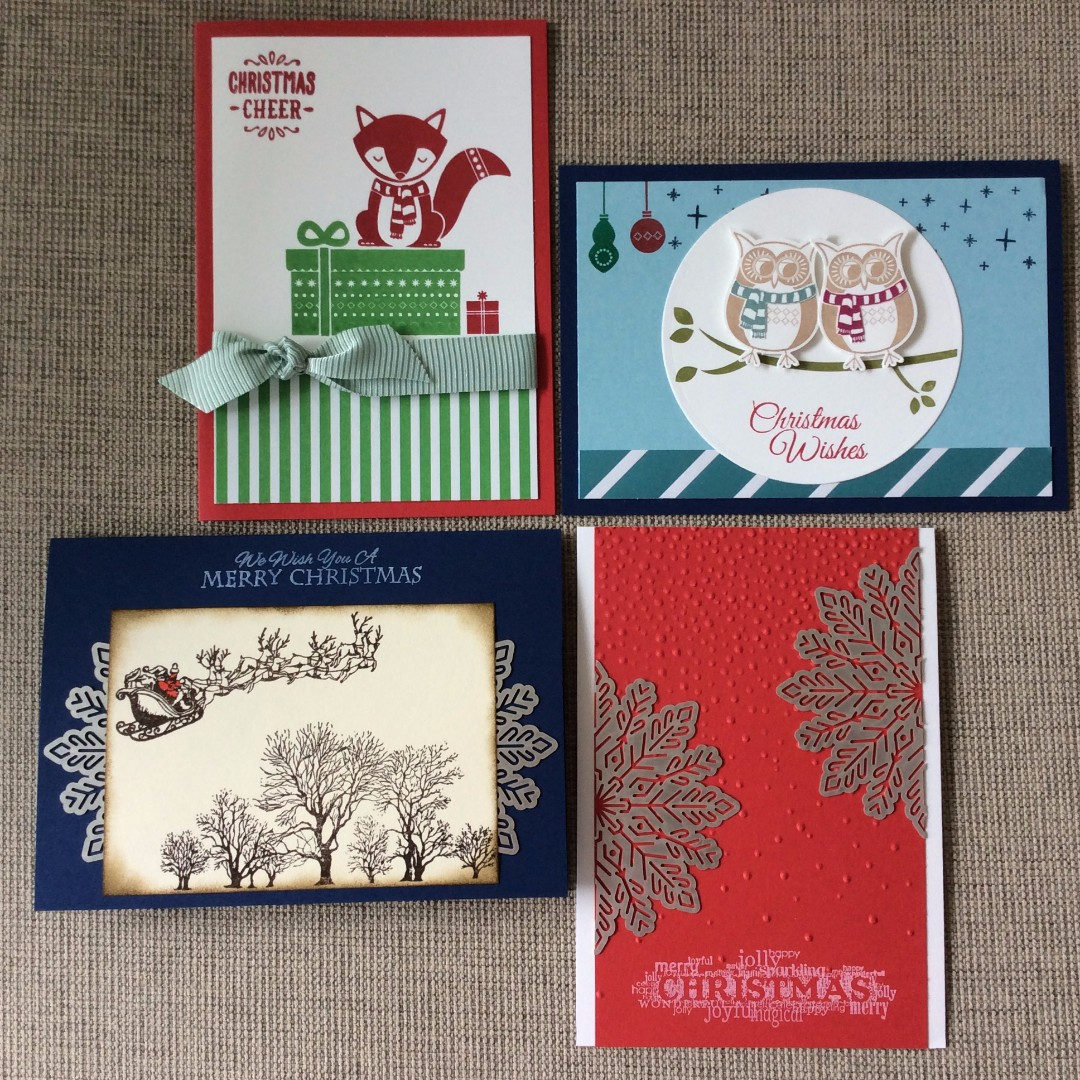 Handmade Christmas Cards & Gift Cards Holders