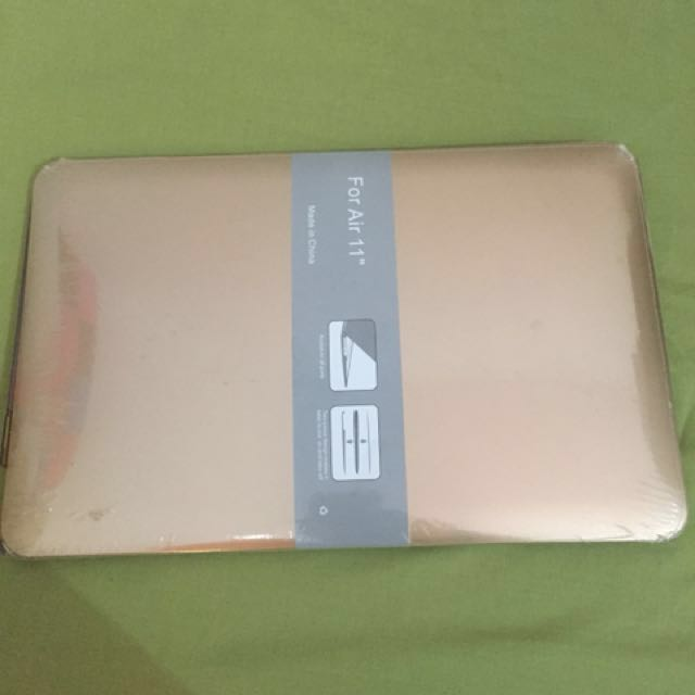 Hardcase gold macbook air 11inch