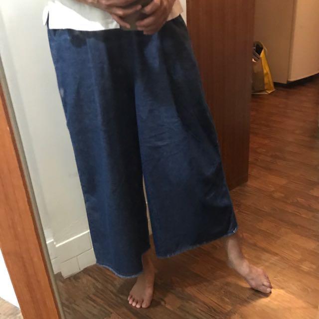 H:CONNECT經典單寧褲裙